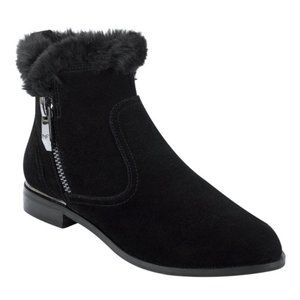 Like New Marc Fisher Rasill Suede Ankle Boots